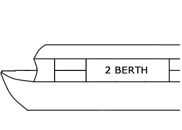 2 Berth Canal Boats