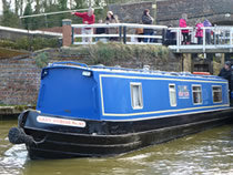 The Mad as a Hatter canal boat operating out of Gayton