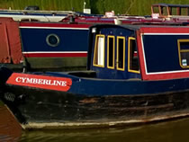 The Cymbeline 2 canal boat operating out of Blackwater