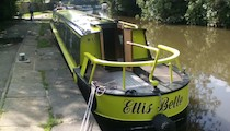 The Ellis Belle canal boat operating out of Barnoldswick