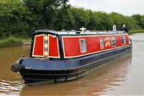 The Casanova canal boat operating out of Poynton