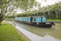 The Spirit of Debdale canal boat operating out of Anderton