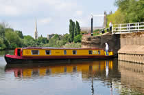 The Hermod canal boat operating out of Gailey