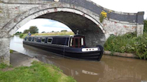The Adele Marie canal boat operating out of Nantwich