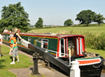The Lesser Spotted Eagle canal boat operating out of Hilperton