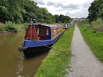 The Gemini III canal boat operating out of Poynton