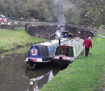 The Carey canal boat operating out of Stone