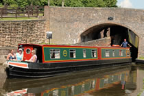 The White Fronted Goose canal boat operating out of Hilperton