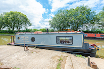 The Little Otter canal boat operating out of North Kilworth