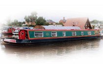 The Black Lark canal boat operating out of Worcester