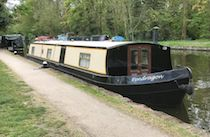 The Pendragon canal boat operating out of Iver