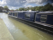The Anne canal boat operating out of Bradford-on-Avon
