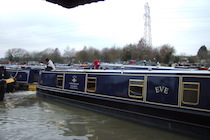The Eve canal boat operating out of Bradford-on-Avon