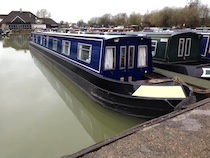 The Hannah canal boat operating out of Bradford-on-Avon