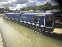 The Kate canal boat operating out of Bradford-on-Avon