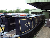 The Leah canal boat operating out of Bradford-on-Avon