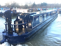 The Lily canal boat operating out of Bradford-on-Avon