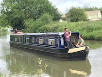 The Molly canal boat operating out of Bradford-on-Avon