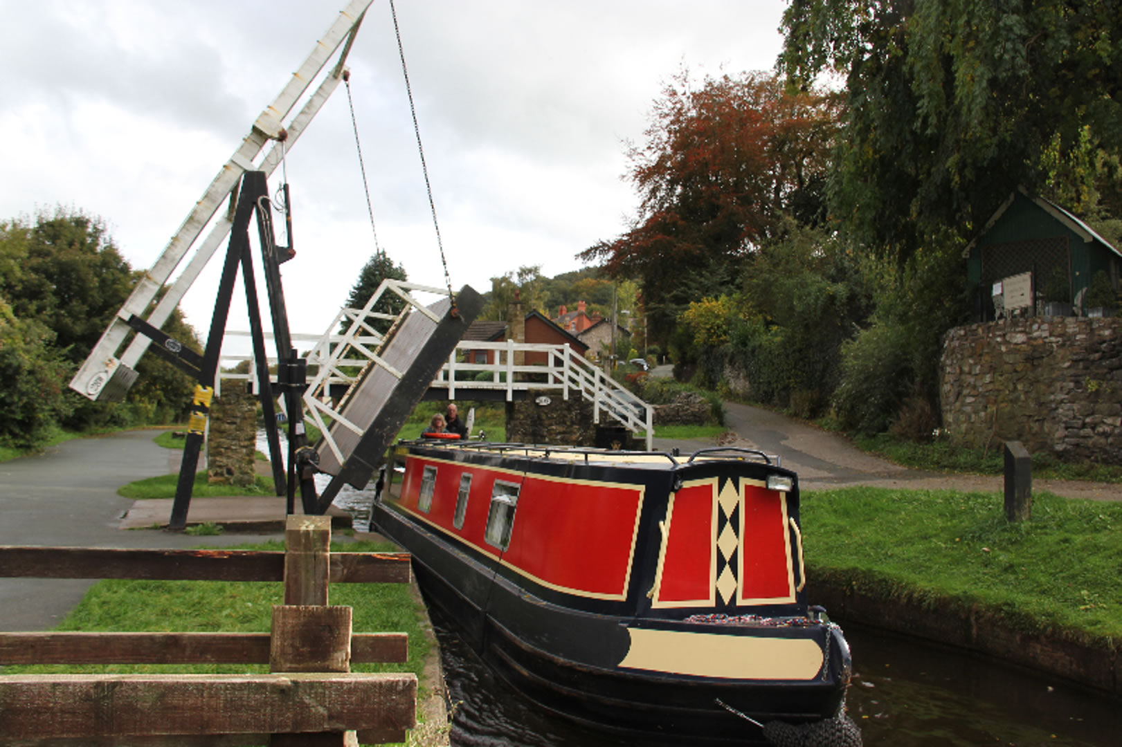 The Lady Sophia canal boat operating out of Middlewich