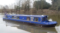 The North Star canal boat operating out of Stourport on Severn