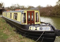 The Cherwell Valley canal boat operating out of Stratford-upon-Avon