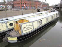 The Dee Valley canal boat operating out of Coventry