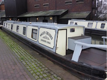 The Weaver Valley 6 canal boat operating out of Coventry