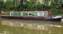 The Cobbs Wren canal boat operating out of Wrenbury