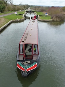 Be a considerate canal boater