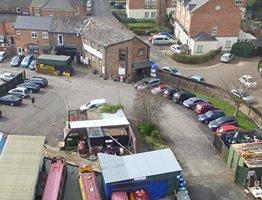 Parking at Worcester Marina
