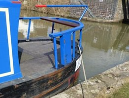 Moored on the canal