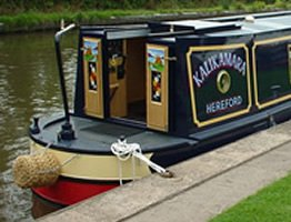 Semi Traditional Canal Boat