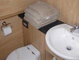 Flush toilet(s) on board