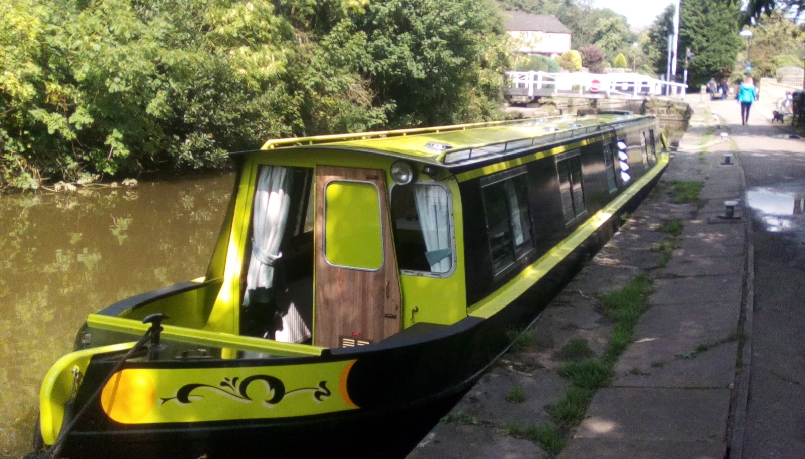 The BELLE class canal boat