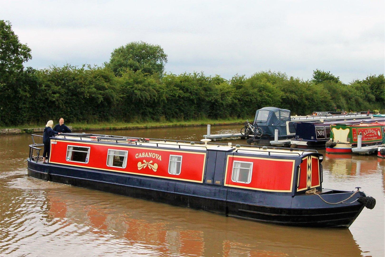 The Casanova class canal boat