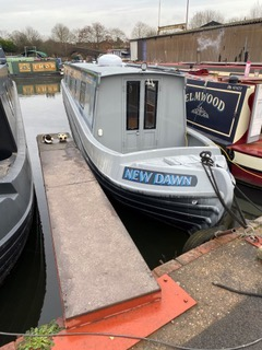 The H-Dawn class canal boat