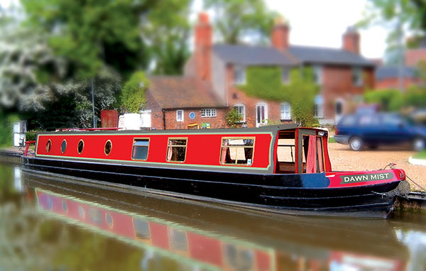 The H-Mist class canal boat