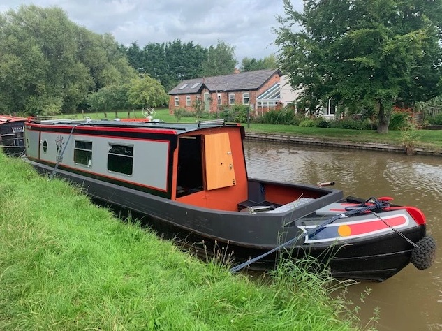 The Jelley class canal boat