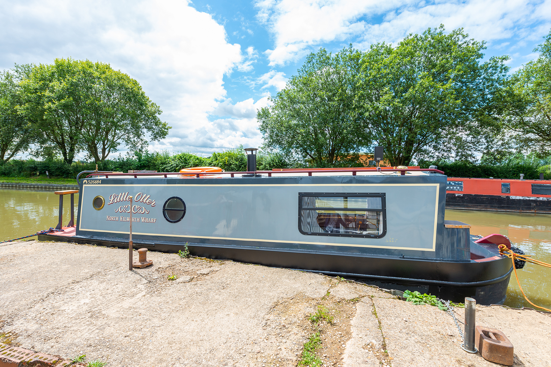 The K-Otter class canal boat