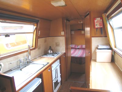 The Medway class canal boat