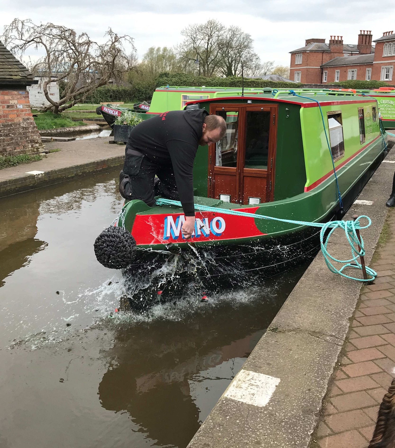 The Mino class canal boat