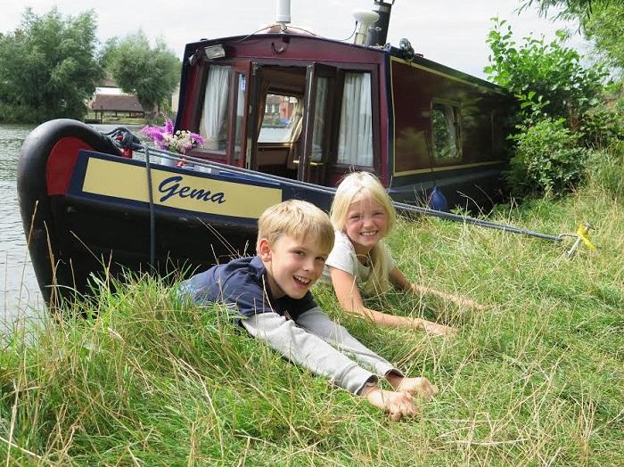 The MRC-Gema class canal boat
