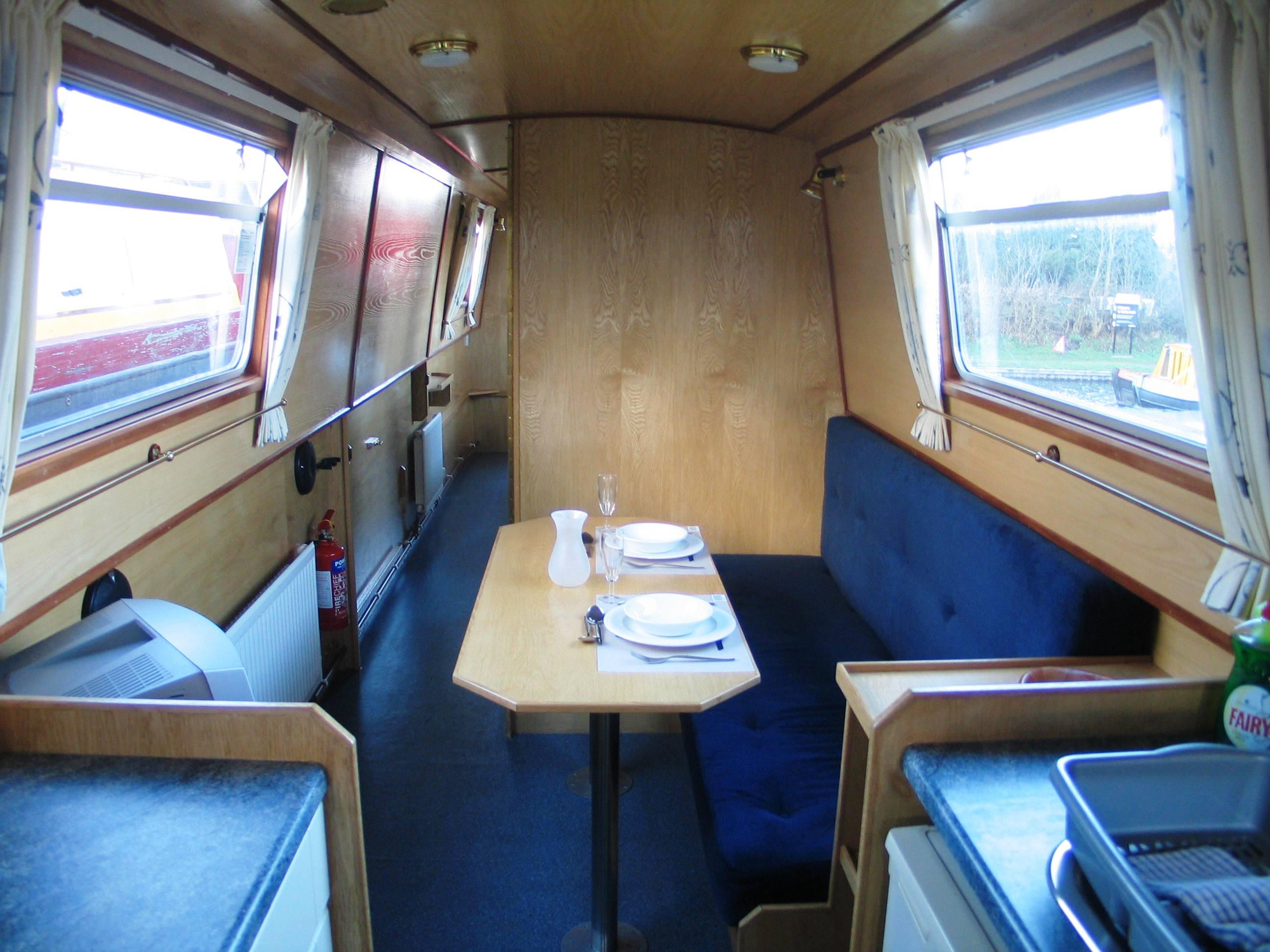 The Nene class canal boat