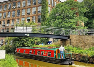 The Norton class canal boat