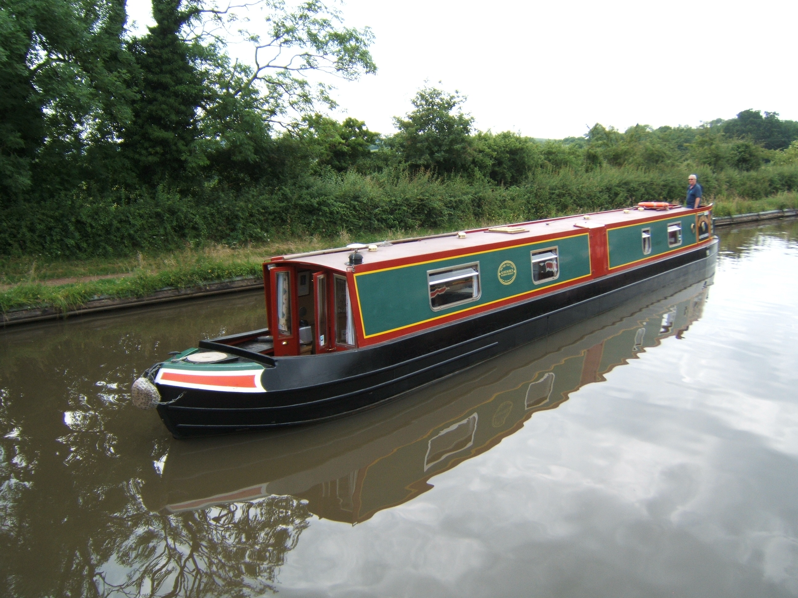 The Plover class canal boat