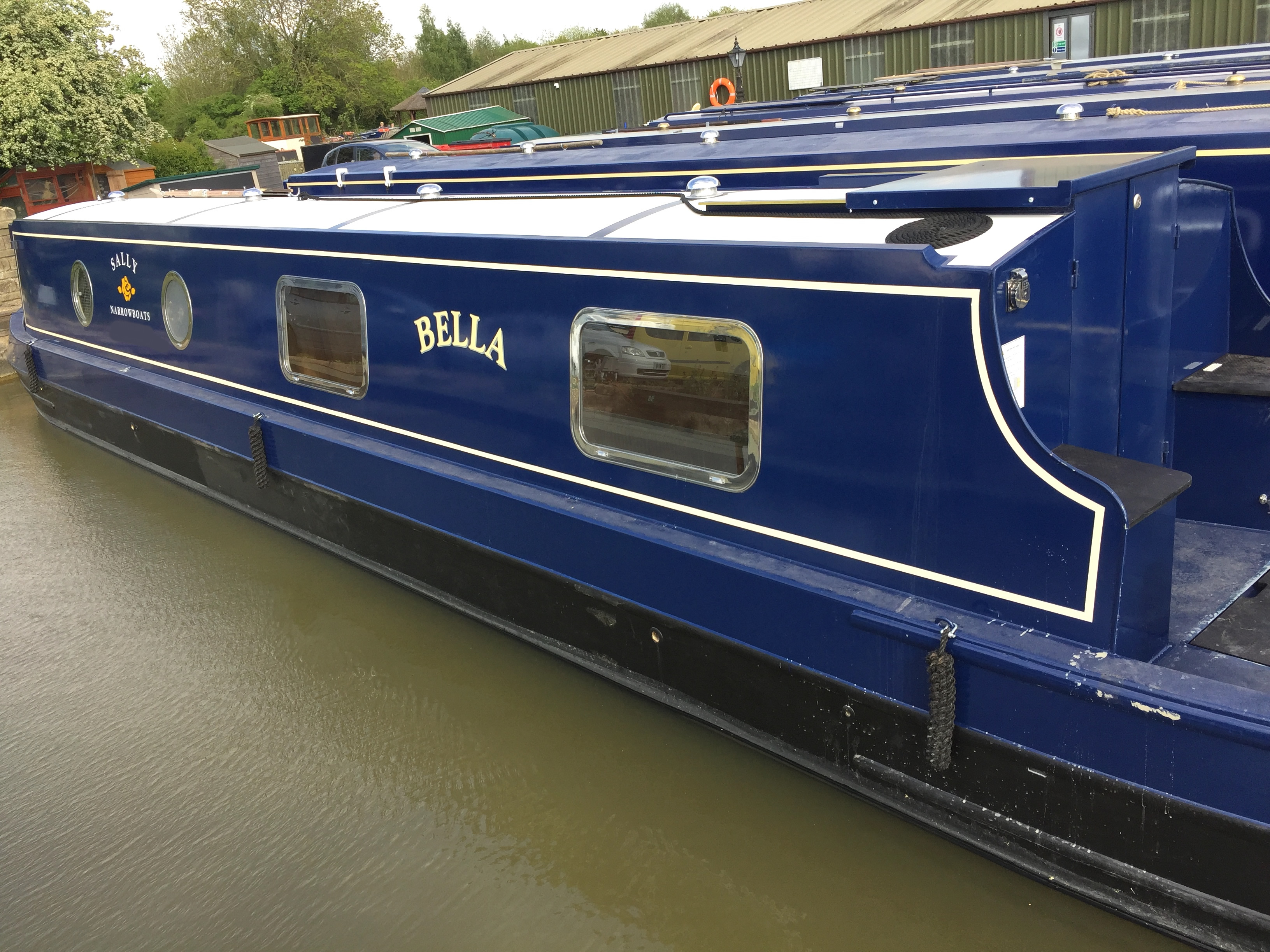 The S-Bella class canal boat