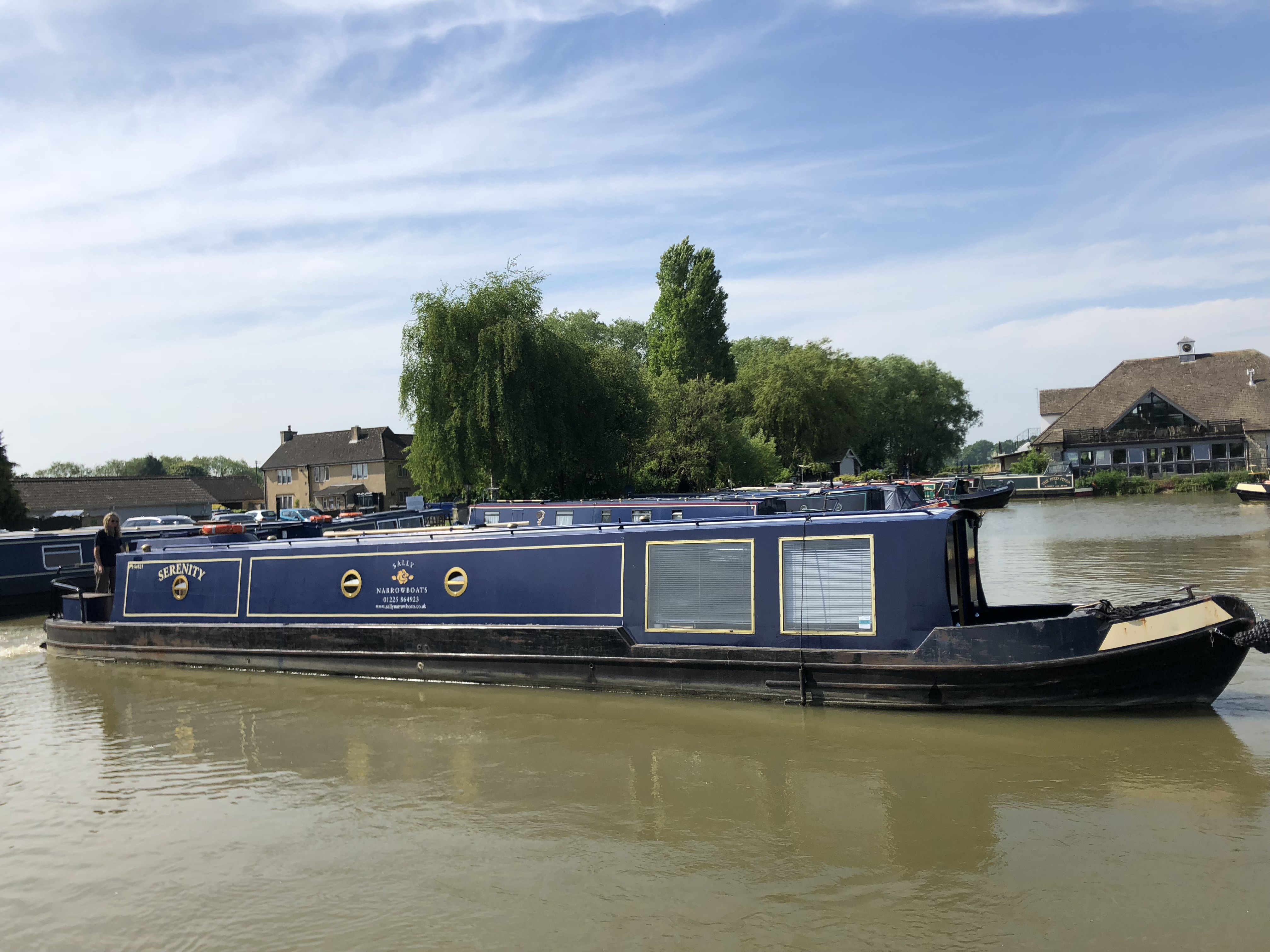 The S-Serenity class canal boat