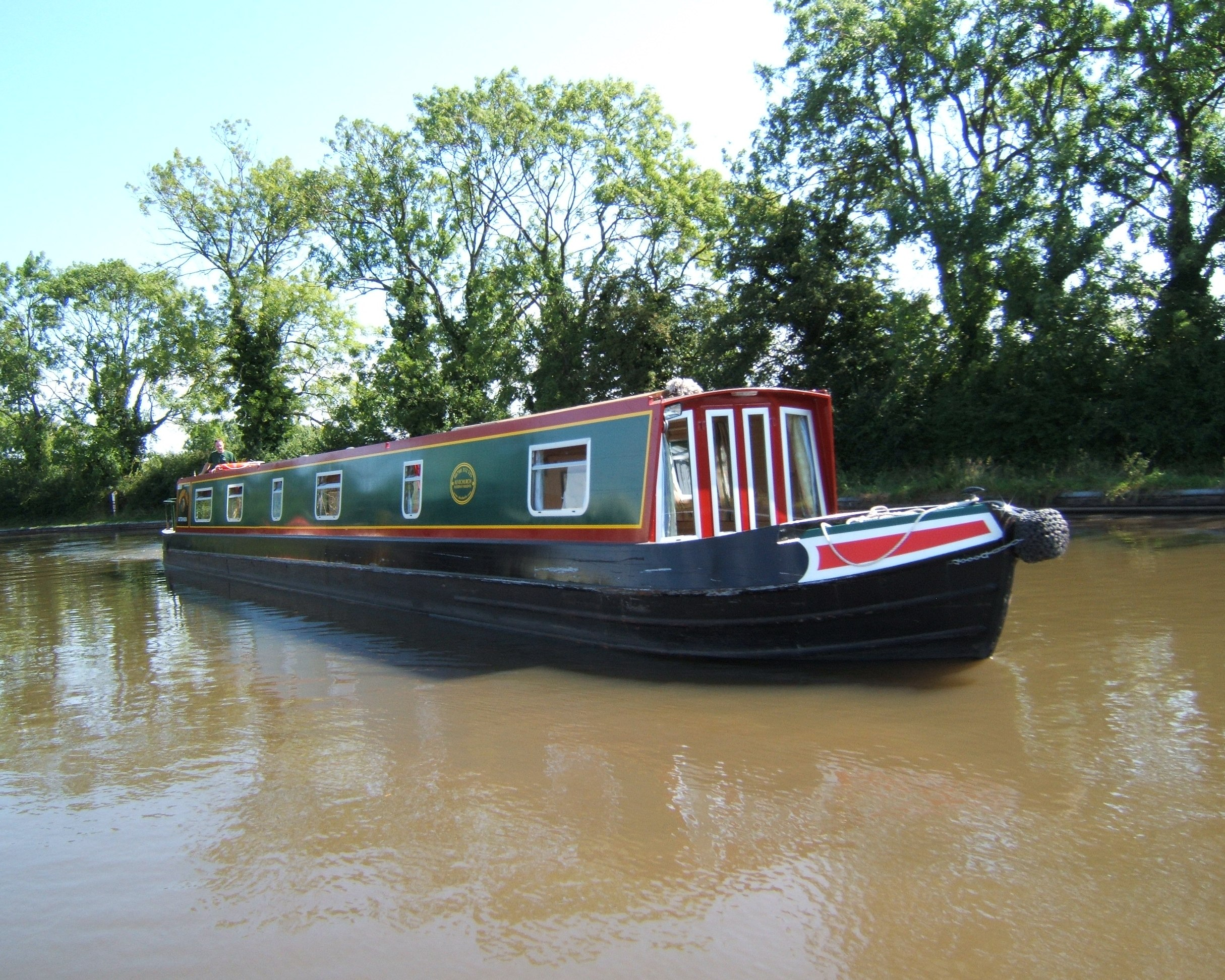 The Sandpiper class canal boat