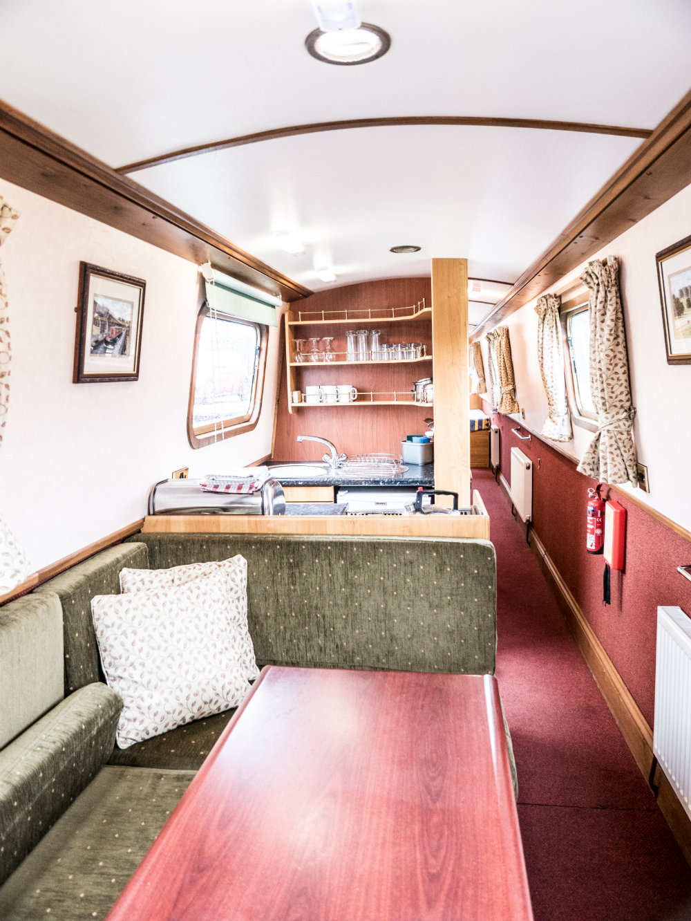 The Star8 class canal boat