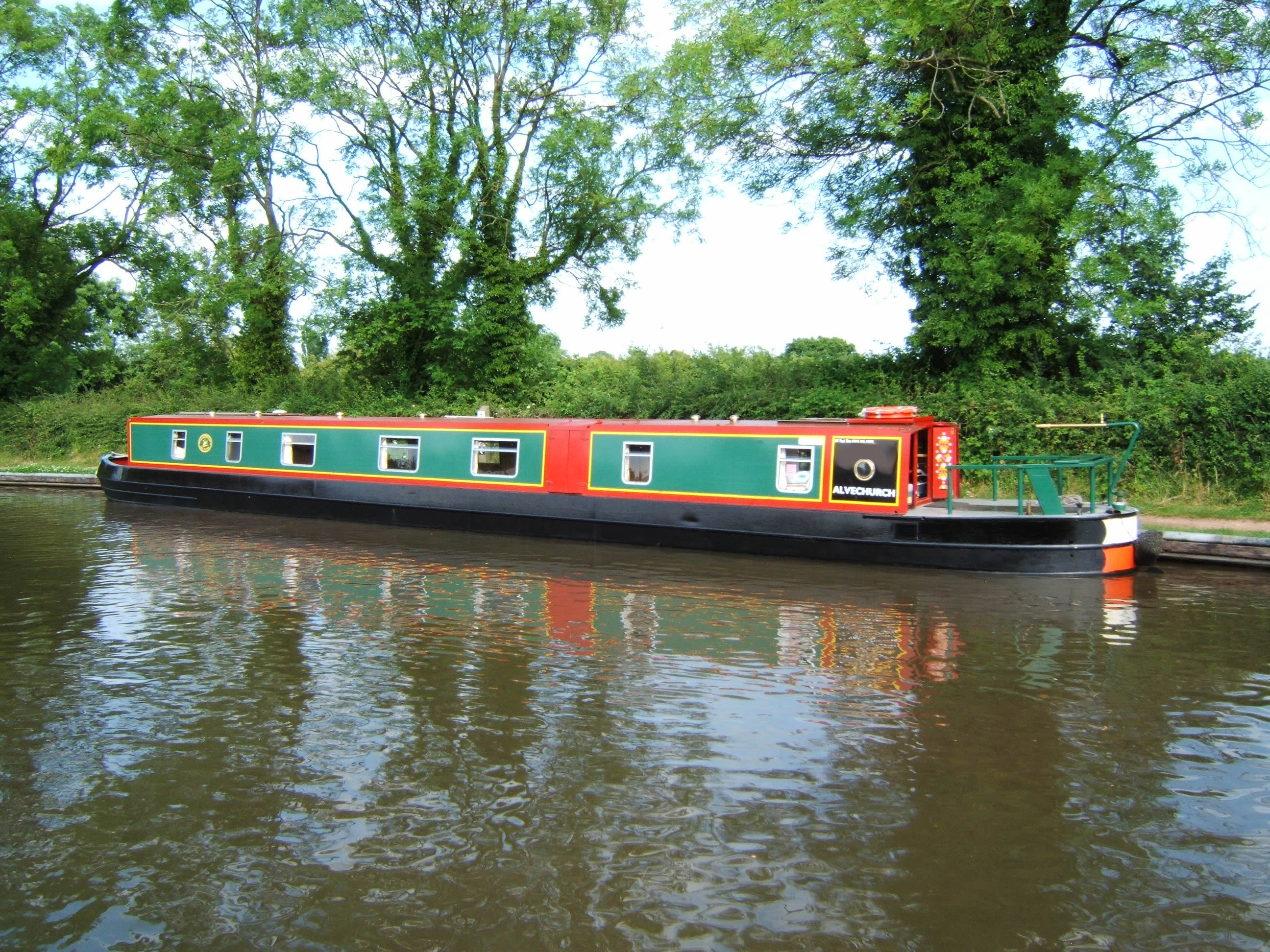 The Swan class canal boat